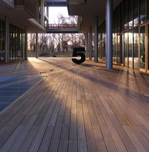 Pavimentazione in legno TAVAR per esterni