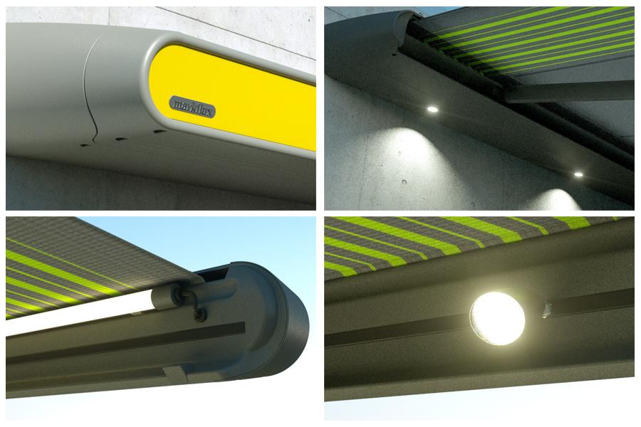 Tenda da sole Markilux MX1: tecnologicamente evoluta