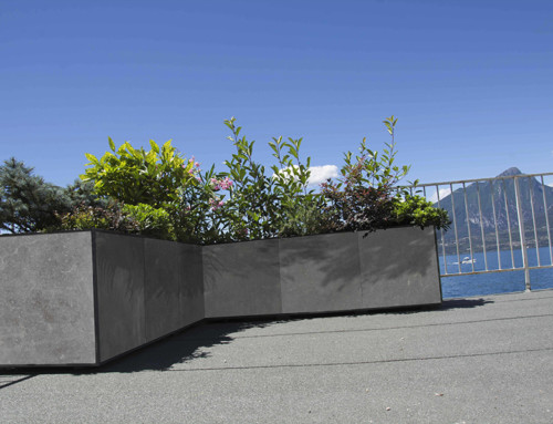 Vasi Modularte, la creatività in giardino