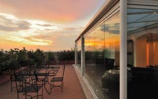Vetrate panoramiche: struttura versatile ed efficiente