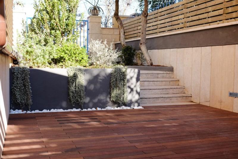 sistema decking per la pavimentazione