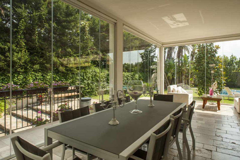 vetrate scorrevoli per veranda